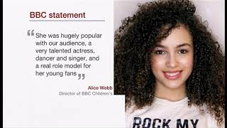 Mya-Lecia Naylor passes away (2002 - 2019) (UK) - BBC News - 18th April 2019