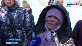 Омские школьники приняли  участие в военно-спортивной игре «Зарница»