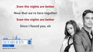 Since I Found You (OST) - Even The Nights Are Better by Kyla [Lyrics Video]