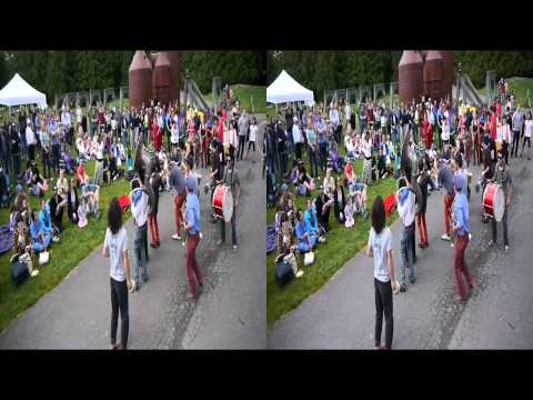 2012 Honk Fest West - Church - 3D video