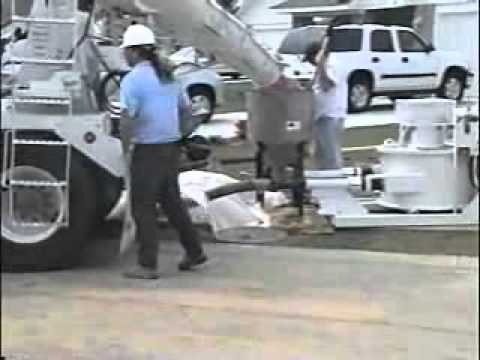 Blastcrete RD6536-P - Variable Speed Concrete Pump