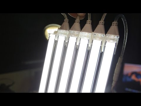5-minute DIY LED panel with NO TOOLS