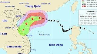 TIn Bão Mới Nhất : Hoàn lưu bão số 11 kết hợp không khí lạnh có thể gây mưa to, biển động dữ dội