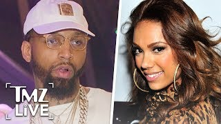 'Love & Hip Hop' Star Erica Mena Shares Message After Ex BF Shot and Killed | TMZ Live