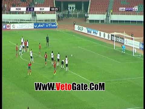 المغرب تتقدم بالهدف الثالث فى مرمى مصر