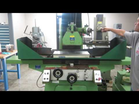 Jakobsen SJ30 Automatic Surface Grinder w Incremental Downfeed at www.machinesused.com