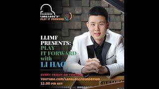 Play It Forward Virtual Concert featuring Li Hao