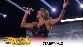 Glennis Grace: Dutch Singer Delivers HOT Semi-final Performance! | America's Got Talent 2018