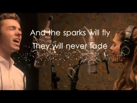 Nathan Sykes & Ariana Grande 'Over And Over Again' (Lyrics Video)