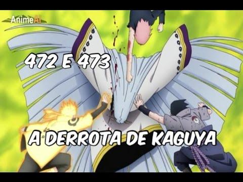 O Suzanoo do Kakashi e o Selamento de Kaguya - Naruto shipouden ep 472 e 473
