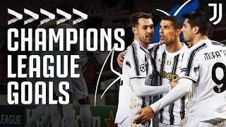 2020/21 Every Juventus Champions League Goal!   Ronaldo, McKennie, Morata & Chiesa   Juventus