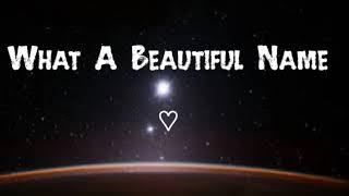 What A Beautiful Name ❤️ Hillsong Worship [ 1 Hour Version] Music Audio