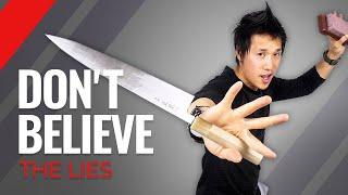 5 Biggest Myths Of Knife Sharpening