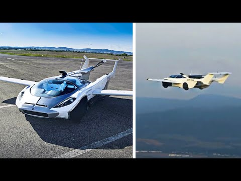Како изгледа првиот комерцијален летачки автомобил?