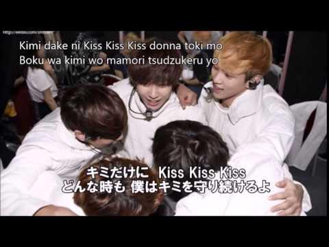 KissKissKiss (ローマ字・日本語字幕)/SHINee