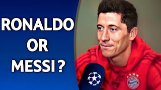 Ronaldo or Messi? | ft. Firmino Lewandowski Salah