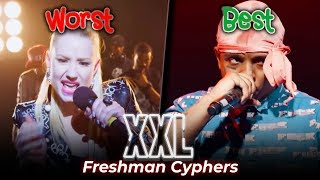 Best vs. Worst XXL Freshman Cyphers