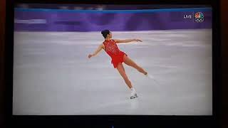 Mirai Nagasu Landing Her Triple Axel At The 2018 Olympics! History!