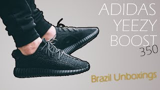 Unboxing Adidas Yeezy Boost 350 Black