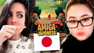CHAMEI MINHA AMIGA JAPA PRA JOGAR FREE FIRE!!!