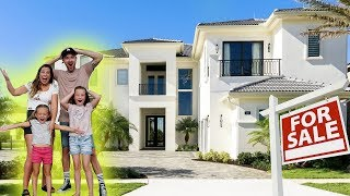 OUR NEW MILLION DOLLAR MANSION! (EXCLUSIVE HOUSE TOUR)
