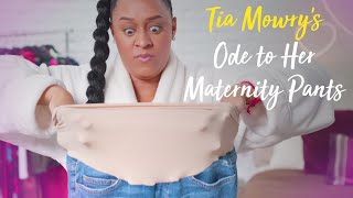 Tia Mowry's Ode to Her Maternity Pants