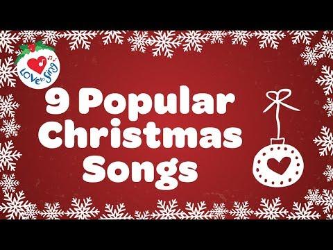 Top 9 Christmas Songs and Carols with Lyrics 2018