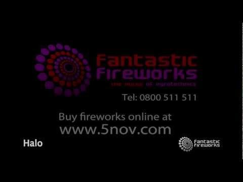 Fantastic Fireworks Halo - 61 Shot Barrage Firework