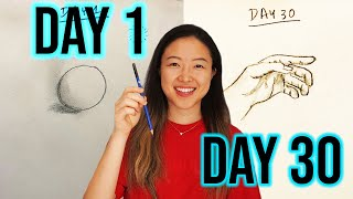 Learn to Draw in 30 Days | The Hobbyist Challenge