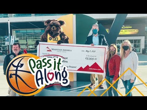 """Mountain America and the Utah Jazz """"Pass it Along"""" to Canines With a Cause."""