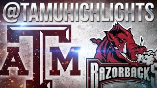 Texas A&M Highlights vs Arkansas 9-24-2016 ??