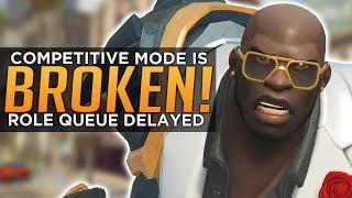 Overwatch: Season 18 BROKEN! - Role Queue Delayed!
