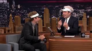 jimmy kimmel interviews brad pitt