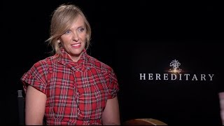 Toni Collette tells us how scary Hereditary is