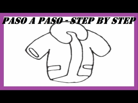 3344 How To Draw Jacket Easy Drawing For Kids Step By Step