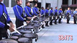 2010 Blue Devils - Drum Break - July 4th Rose Bowl