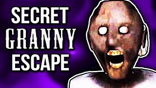 *NEW* SECRET CAR ESCAPE!   Granny (New House Update 1.5)