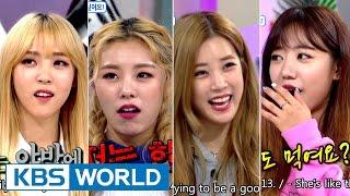 Hello Counselor - Chorong, Namjoo, Wheein, Moonbyul [ENG/THA/2016.10.10]