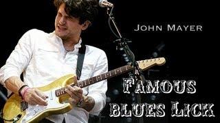 John Mayer's Famous Repeating Blues Lick