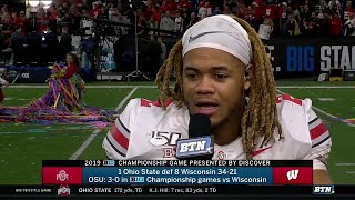 Chase Young Talks B1G Championship | Ohio State | B1G Football