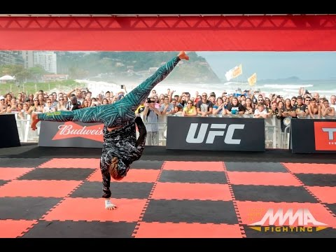 UFC 190: Ronda Rousey Open Workout Session (Complete)