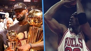 LeBron James Finally Admits It: He's Chasing Michael Jordan's 'Ghost'