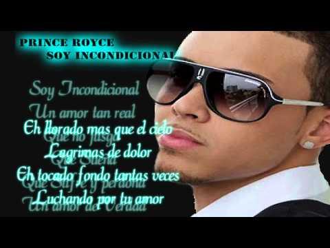 Prince Royce - Incondicional(con letra)2012