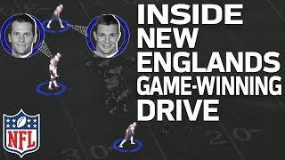 Why Tom Brady & Rob Gronkowski Were Unstoppable on New England's Game-Winning Drive | NFL Highlights