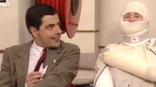 Wrapped up with Bean | Funny Clips | Mr Bean Official