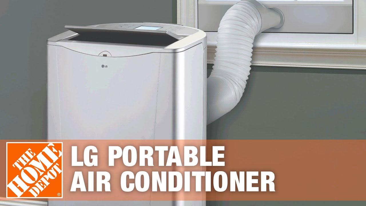 Lg 14 000 Btu Portable Air Conditioner With Heat