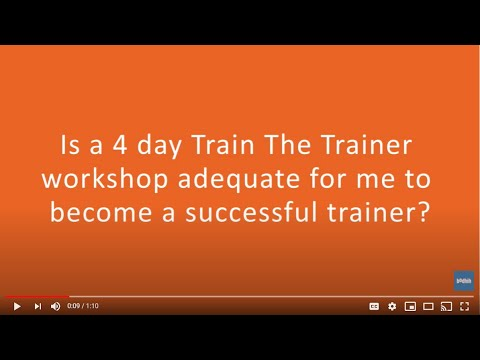 Trainer Certification Essentials