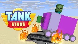 Monster School : TANK STARS CHALLENGE- Minecraft Animation