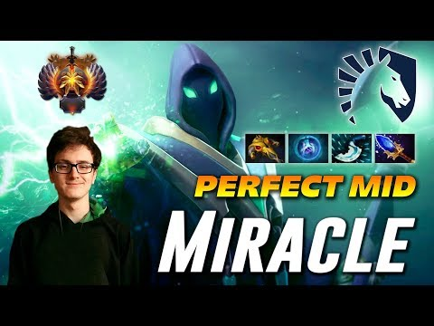 Miracle Rubick | PERFECT MID | Dota 2 Pro Gameplay