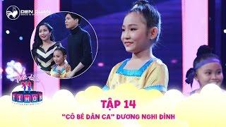 Biệt tài tí hon | tập 14: Cô bé dân ca Nghi Đình hát Sóc Sờ Bai Sóc Trăng